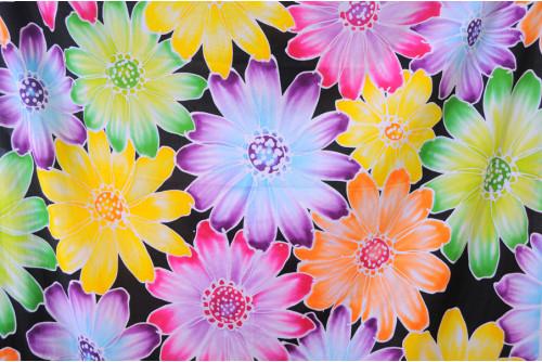 ผ้าบาติก ลายดอกไม้
