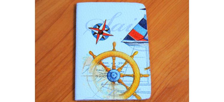 ปกพาสปอร์ต (ship wheel)
