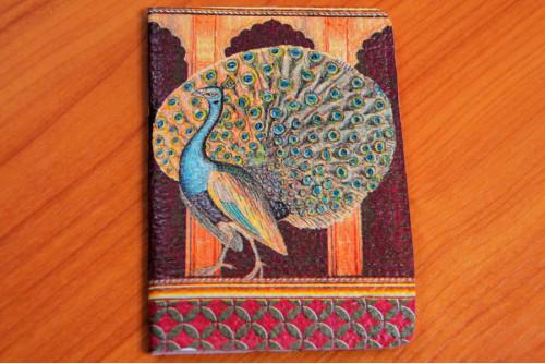 ปกพาสปอร์ต (peacock)