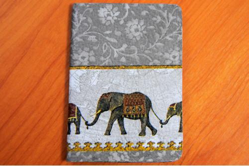 ปกพาสปอร์ต (elephant)