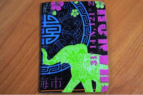 ปกพาสปอร์ต (green elephant)