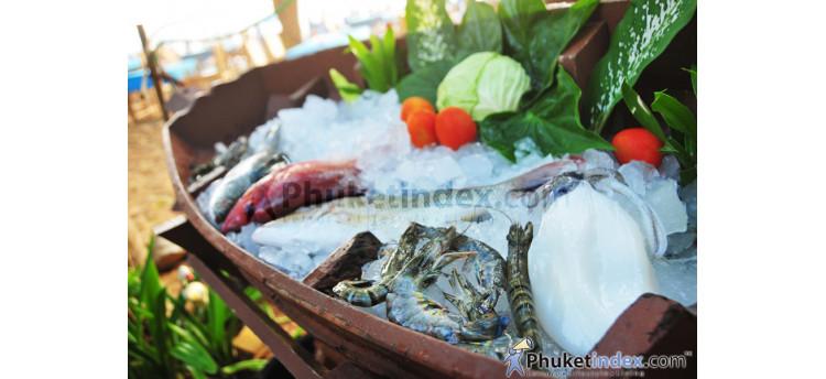 อาหารทะเลสด